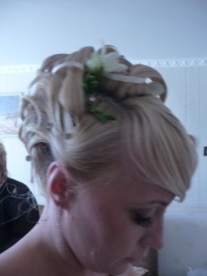 свадебные прически любашевка